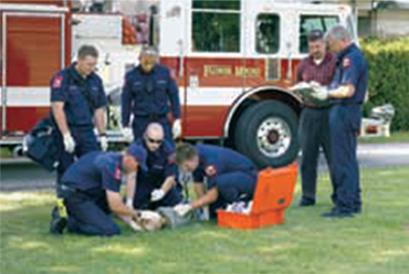 Department of Emergency Medical Technology  photo